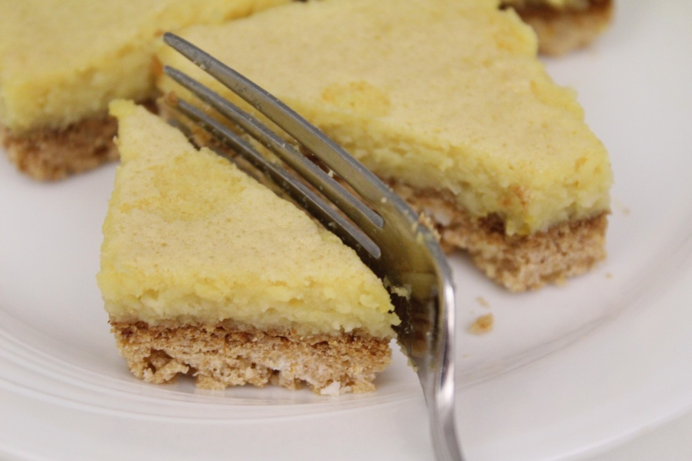 Grain-Free Lemon Bars