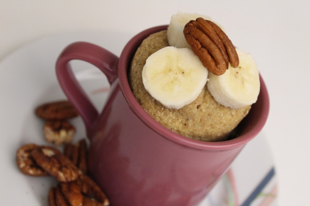 Paleo Banana Mug Cakes | The Creative Palate