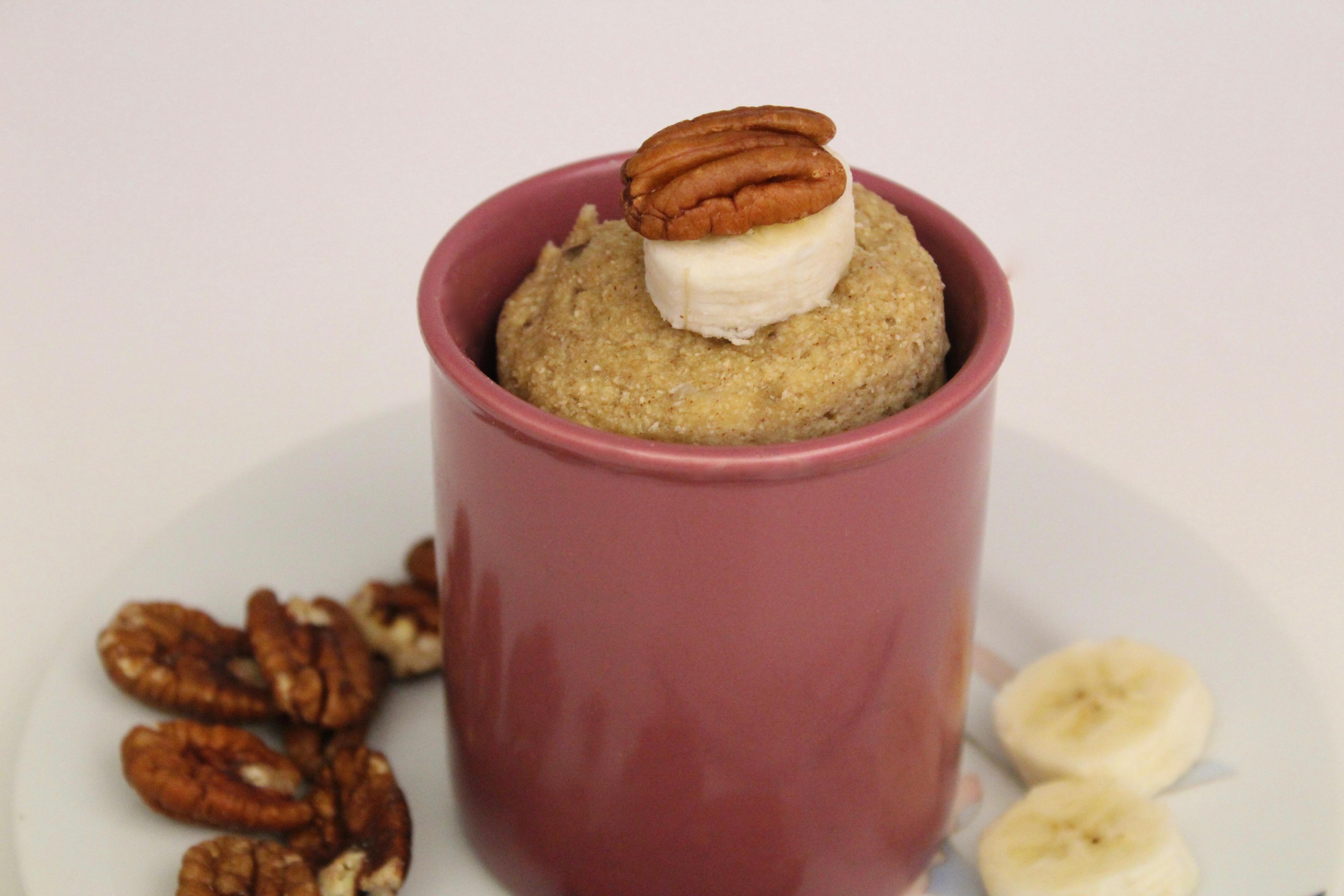 Paleo Banana Mug Cake