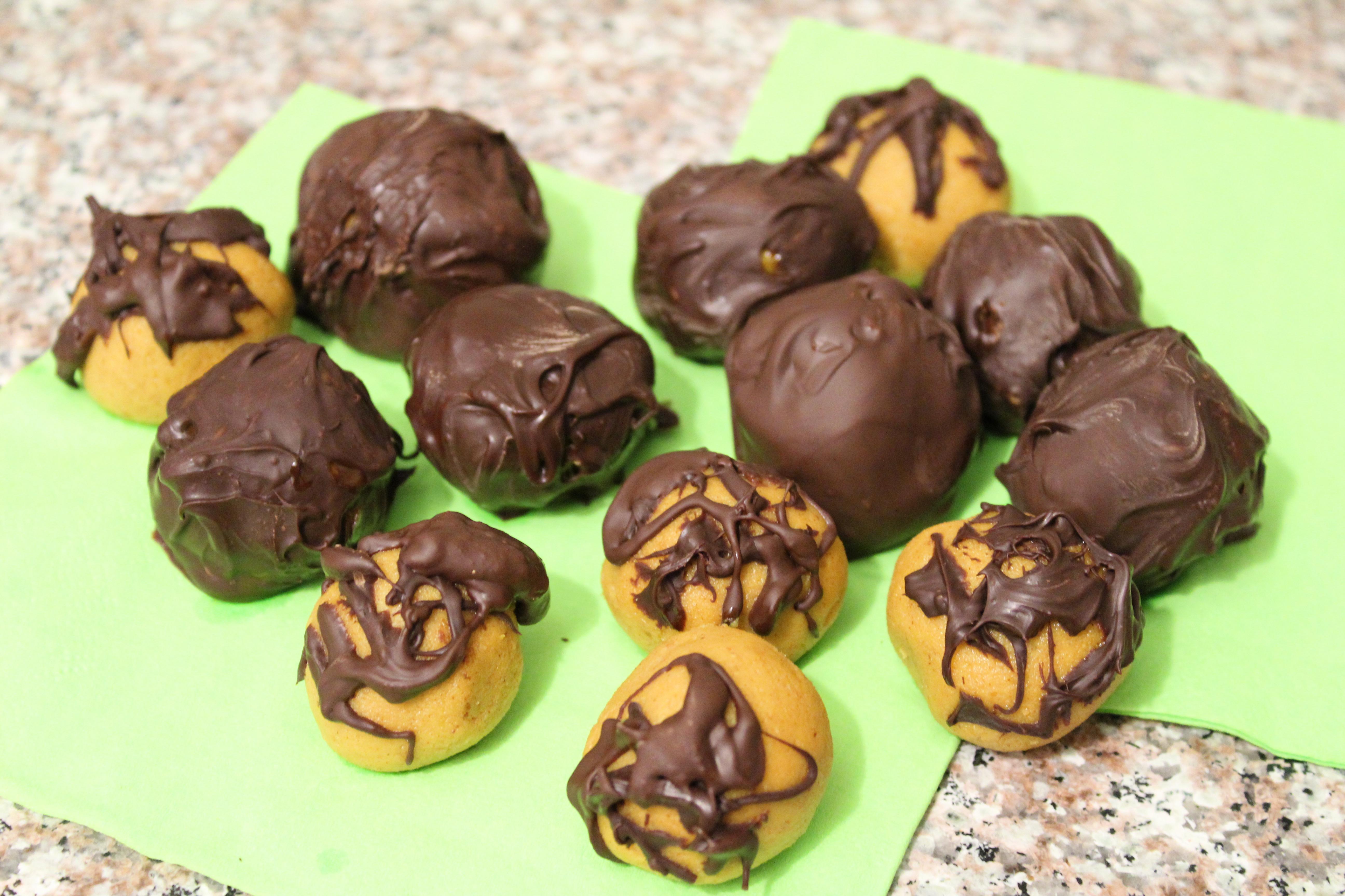 Pumpkin Peanut Butter Truffles
