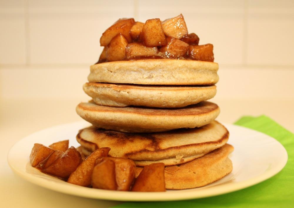 Apple Pie Pancake (Gluten-free) | The Creative Palate