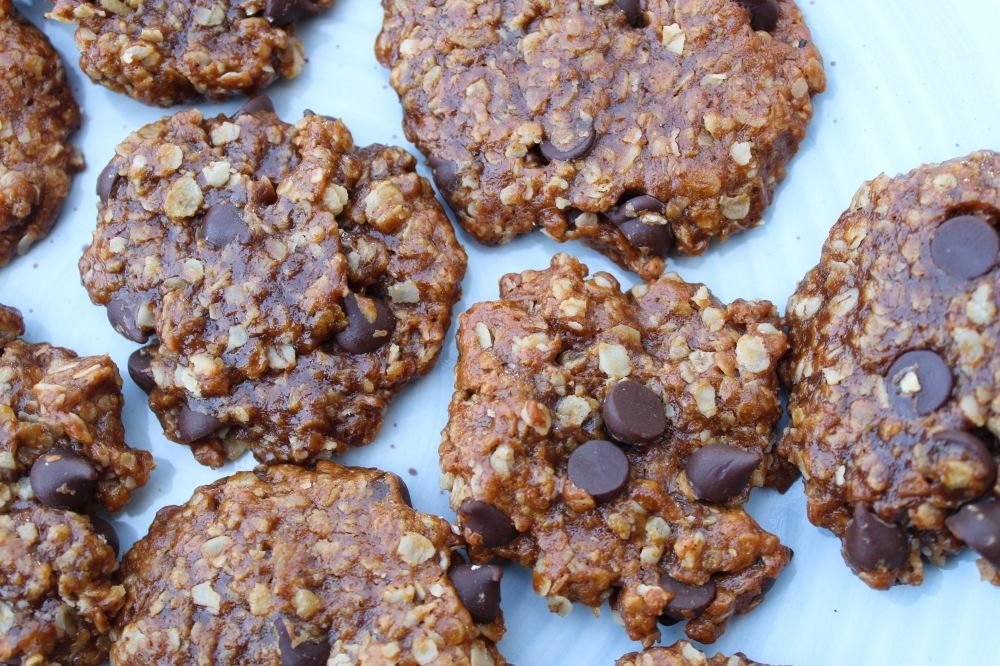 Chocolate Chip Tahini Cookies Vegan | The Creative Palate